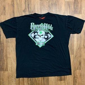 Cypress Hill 25th Anniversary Tour Shirt XXL